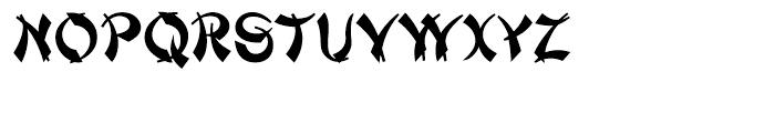 Mandarin Regular Font LOWERCASE