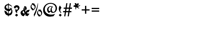 Mandarin Small Caps Standard d Font OTHER CHARS