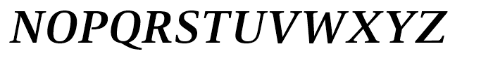 Mangan Bold Italic Font UPPERCASE