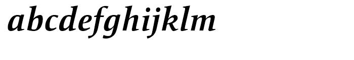 Mangan Bold Italic Font LOWERCASE
