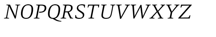 Mangan Light Italic Font UPPERCASE