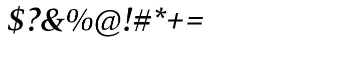 Mangan Medium Italic Font OTHER CHARS