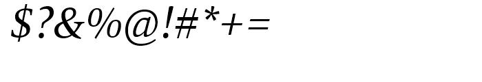 Mangan Nova Italic Font OTHER CHARS