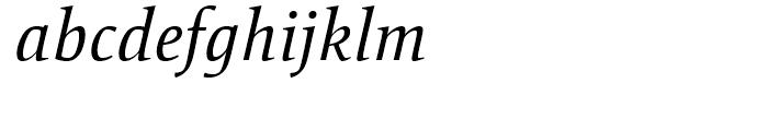 Mangan Nova Italic Font LOWERCASE