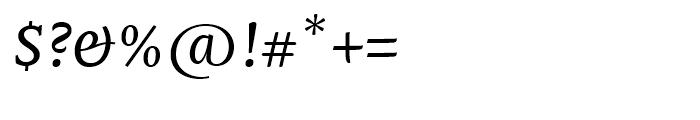 Mantika Book Italic Font OTHER CHARS