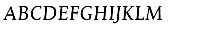 Mantika Book Italic Font UPPERCASE