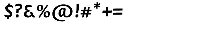 Mantika Informal Bold Font OTHER CHARS