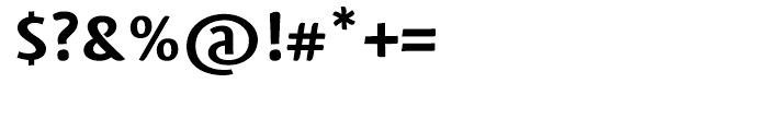 Mantika Sans Bold Font OTHER CHARS