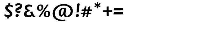 Mantika Sans Cyrillic Bold Italic Font OTHER CHARS