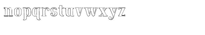 Maple Street Hand Font LOWERCASE