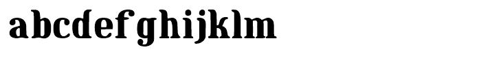 Maple Street Regular Font LOWERCASE
