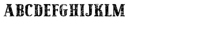 Maple Street Vintage Font UPPERCASE