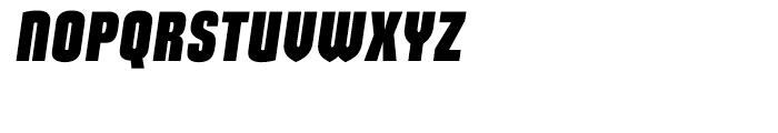 Maqui Black Italic Font UPPERCASE