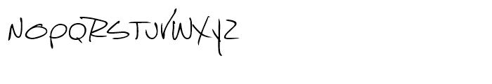 Marcello Handwriting Regular Font LOWERCASE