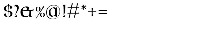 Marceta Uncial Font OTHER CHARS