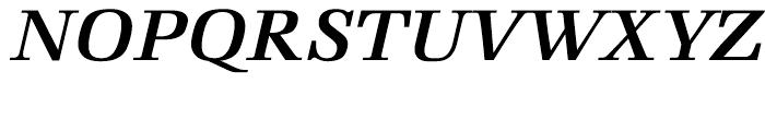 Marconi Semi Bold Italic Font UPPERCASE