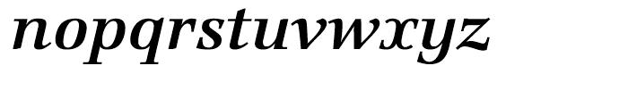 Marconi Semi Bold Italic Font LOWERCASE