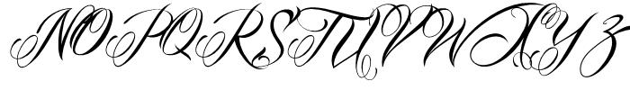 Mardian Pro Regular Font UPPERCASE