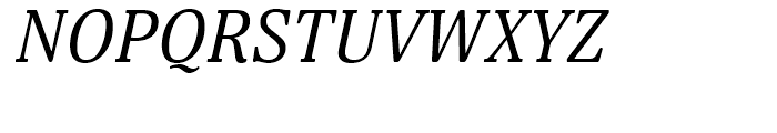 Margon 380 Italic Font UPPERCASE
