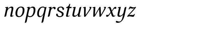 Margon 380 Italic Font LOWERCASE