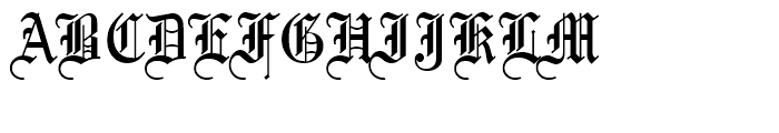 Mariage Standard D Font UPPERCASE
