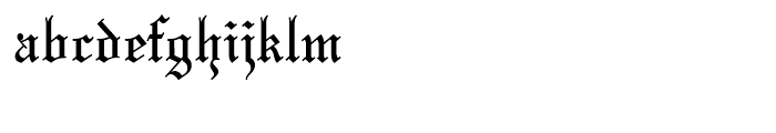Mariage Standard D Font LOWERCASE