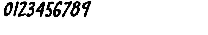 Marian Churchland Bold Italic Font OTHER CHARS