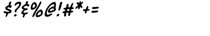 Marian Churchland Italic Intl Font OTHER CHARS
