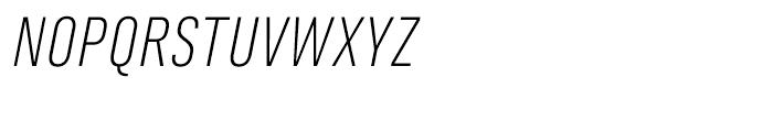 Marianina FY Light Italic Font UPPERCASE