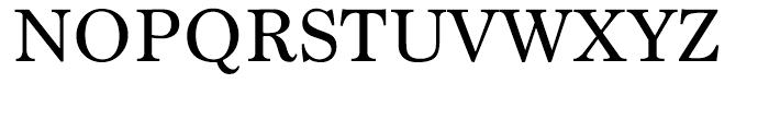 Marion Regular Font UPPERCASE