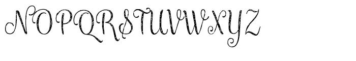 Maris Jean Thin Font UPPERCASE