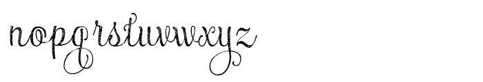 Maris Jean Thin Font LOWERCASE