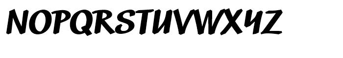 Market Black Font UPPERCASE