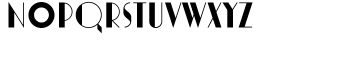 Marlowe Cocktail Font UPPERCASE