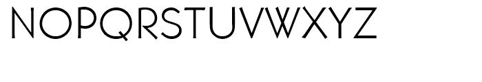 Martin Gothic Light Font UPPERCASE