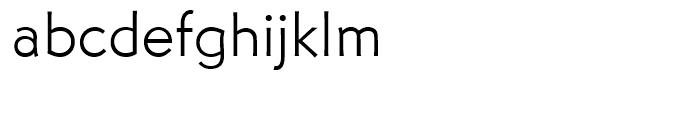 Martin Gothic Light Font LOWERCASE