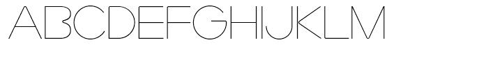 Marzo Regular Font UPPERCASE