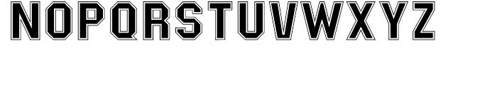 Masheen College Font LOWERCASE