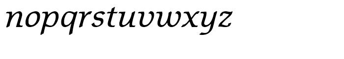Matt Antique Italic Font LOWERCASE