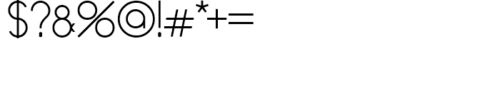 Mauve Medium Font OTHER CHARS