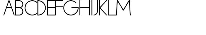 Mauve Medium Font UPPERCASE
