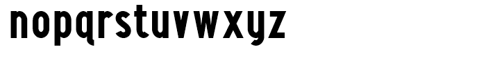 Maxwell Sans Bold Font LOWERCASE