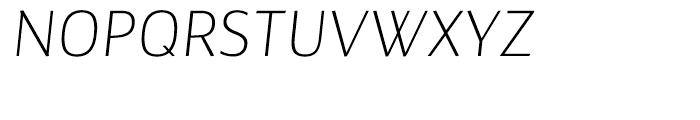 Maya Samuels Extra Light Italic Font UPPERCASE