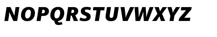 Mayberry WGL Extrabold Italic Font UPPERCASE