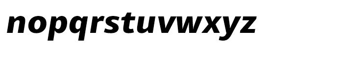 Mayberry WGL Extrabold Italic Font LOWERCASE