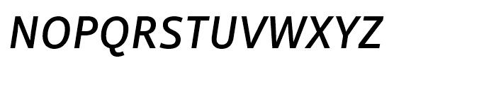 Mayberry WGL Medium Italic Font UPPERCASE