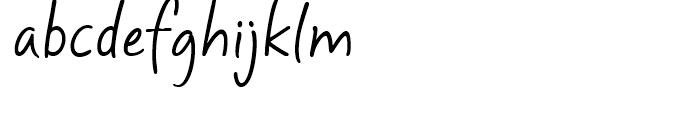 Mayfield Regular Font LOWERCASE