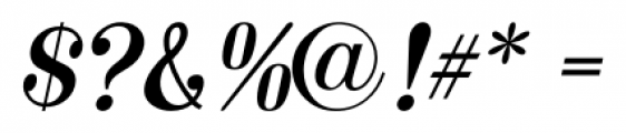 Made in Japan JNL Oblique Font OTHER CHARS