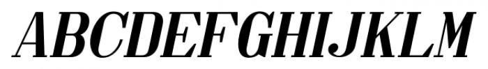 Made in Japan JNL Oblique Font UPPERCASE