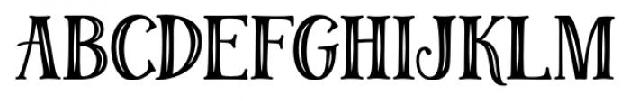 Magellan Deco Font UPPERCASE